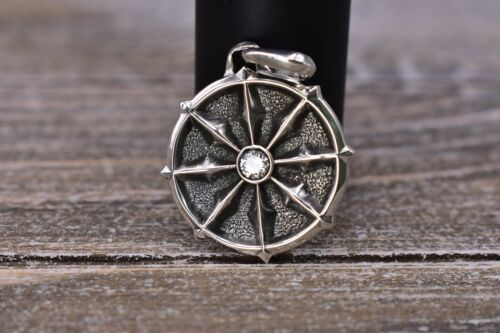 David Yurman Sterling Silver Dharma Amulet With Wh