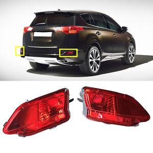 For Toyota Rav4 13 15 Side Marker Lights Rear Bumper