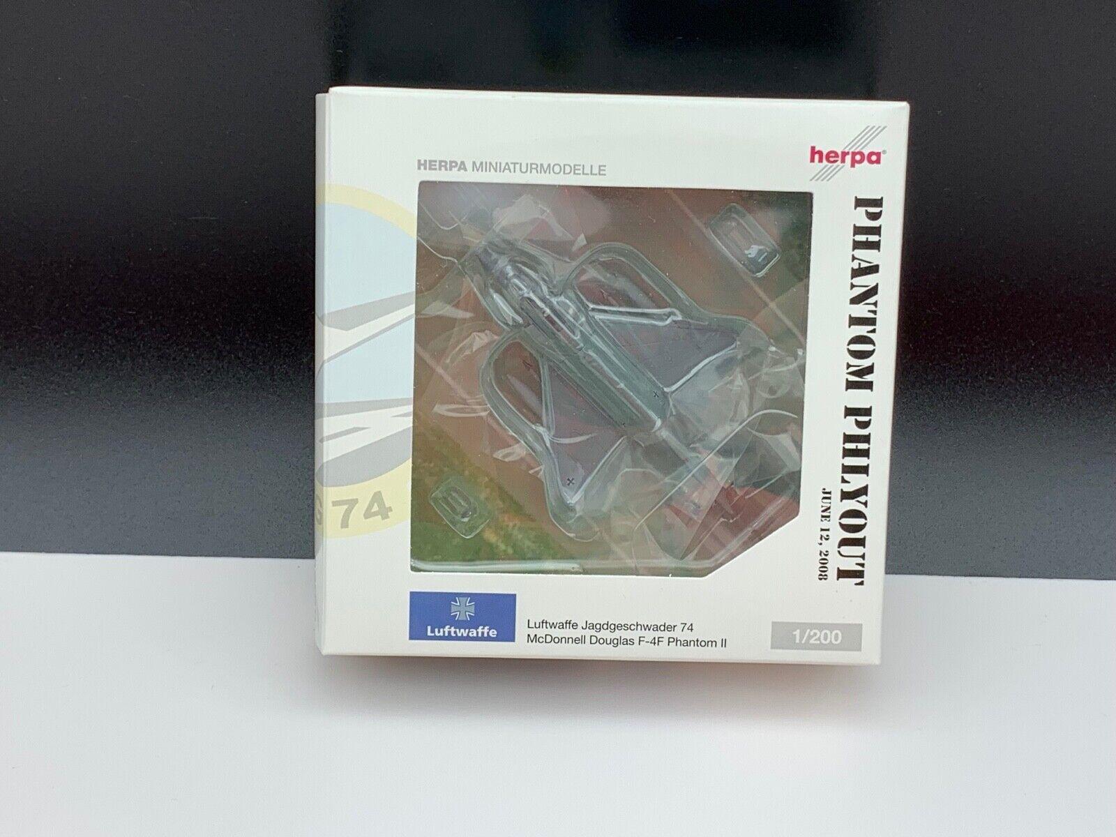 HERPA AVION 552271 miniatures Modèles Avion 1 200. Jamais déballé. TOP