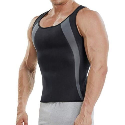Sauna Weste Männer Neopren Abnehmen Shirt Hot ofheat Shaper Tank Top Training HJ