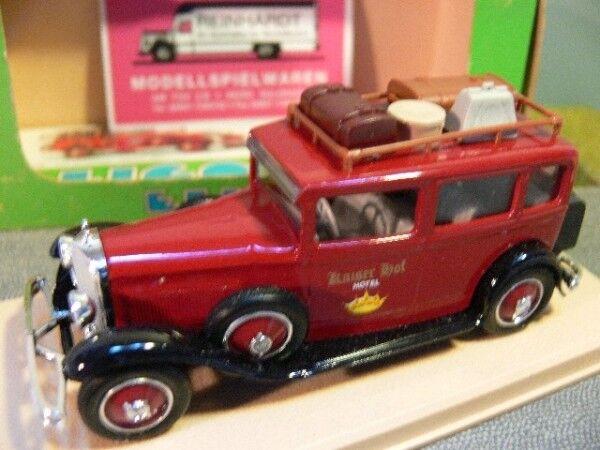 1 43 ELIGOR MB 1931 limousine Empereur Cour Hôtel 1044