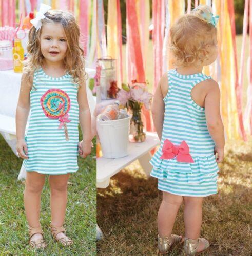 Mud Pie Summer Fun Lollipop Dress