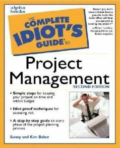 the complete idiot s guide to project management a paperback book rh ebay com Complete Idiots Guide to Investing the complete idiot's guide to project management 6th edition