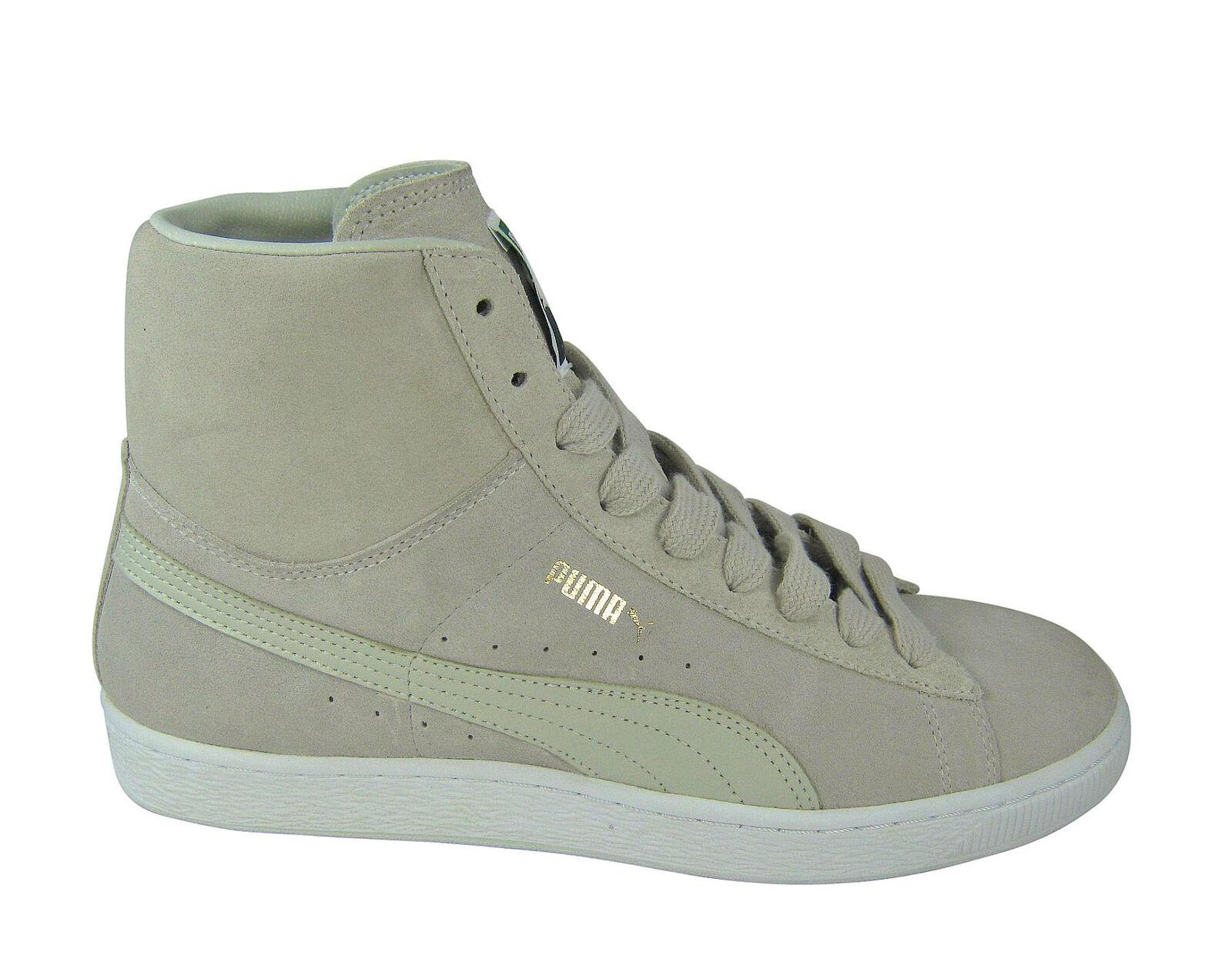 Puma Suede Mid Classics silver birch classic Schuhe/Sneaker