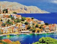 500 Pcs Puzzlebug Puzzles Picturesque Greece,Symi Island,Dodecanes Jigsaw Puzzle