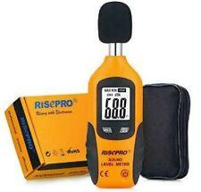 Risepro Decibel Meter Digital Sound Level Meter 30 130 Db Audio Noise Measur