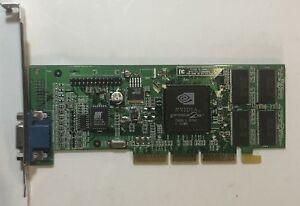 15UMJ DELL Dell nVidia GF2 MX AGP 32MB Video Card 15UMJ 180-P0039-0100-C