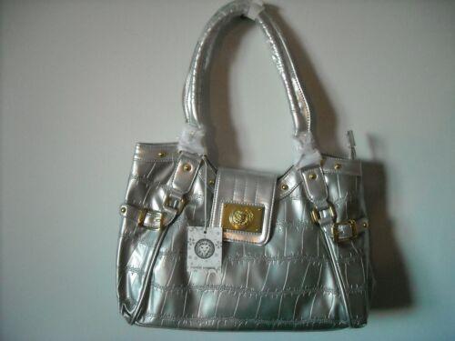 portemonnee accenten met handtas Grote gouden zilveren nieuwe stijlvolle leeuwenkop en A5RcS34jLq