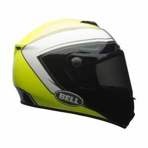 Bell-2020-Adultes-Srt-Route-Moteur-Moto-Casque-Fantome-Haute-Visibilite