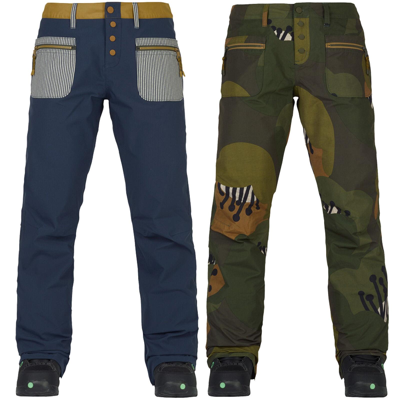 Burton twentyounce PANT DONNAYorkton Snowtavola Pantaloni Pantaloni invernali pantaloni divertiuominitozione nuovo
