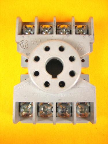 27E122 Relay Socket Base Potter /& Brumfield