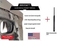 Deltac® Slide Lock + Pin Removal Tool Combo Glock 17 19 20 21 23 Gen1 To Gen4