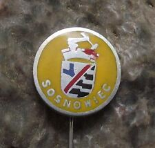 Sosnowiec Silesia Polish Poland Heraldic Crest Shield Coat of Arms Pin Badge