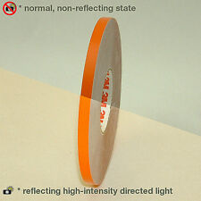 3m 580 Scotchlite Reflective Vinyl Tape Orange 7mm X 6 Meters Helmet Bike Car