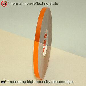 3M-580-scotchlite-reflective-vinyl-tape-orange-7mm-x-6-Meters-helmet-bike-car