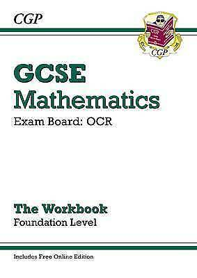 1 of 1 - GCSE Maths OCR Workbook with Online Edition - Foundation (A*-G Resits) by CGP...