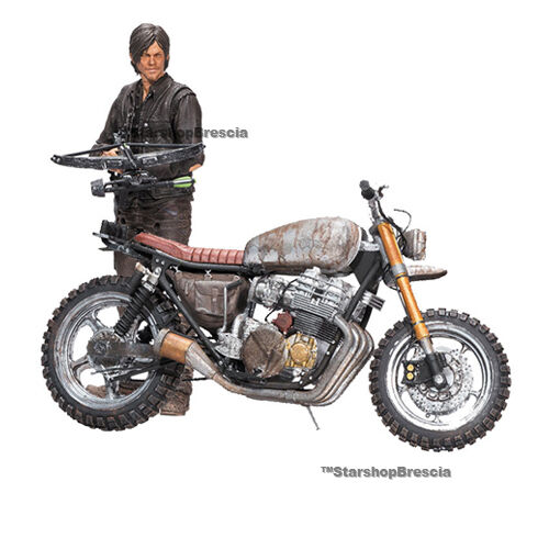 WALKING DEAD TV - Daryl Dixon & Chopper Season 5/6 Action Figure McFarlane