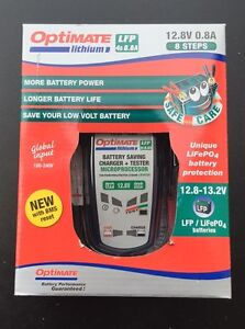 Optimate Batterie Lithium-Ion Chargeur - 12V 0,8 Amps - TM-470