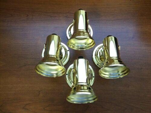 4 Super Bright BBT Marine Grade 12 volt Brass LED Reading Lights