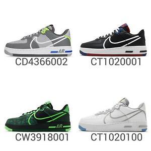 Detalles acerca de Nike Air Force 1 reaccionar D/ms/x AF1 para Hombre  Estilo De Vida Zapatos Tenis elige 1- mostrar título original