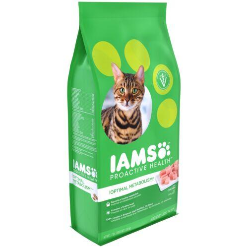 IAMS PROACTIVE HEALTH OPTIMAL METABOLISM Dry Cat Food 7 Pounds