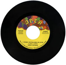 "LEROY HUTSON  ""I THINK I'M FALLING IN LOVE""     KILLER 70's SOUL      LISTEN!"