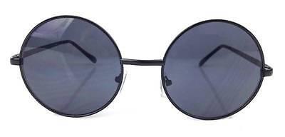 Large Hippie Bohemian Boho Vintage Retro Round Women Gradient Lens Sunglasses