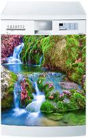Sticker Lave Vaisselle Déco Cuisine Ruisseau Ref 5488 60x60cm