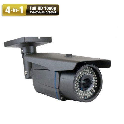 1080P 2.6MP Security Camera 72IR 4-in-1 AHD HDTVI 960H CVBS Outdoor 8j4 OSD Menu