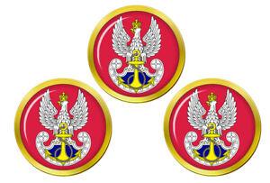 Marynarka-Wojenna-Poli-Marine-Marqueurs-de-Balles-de-Golf