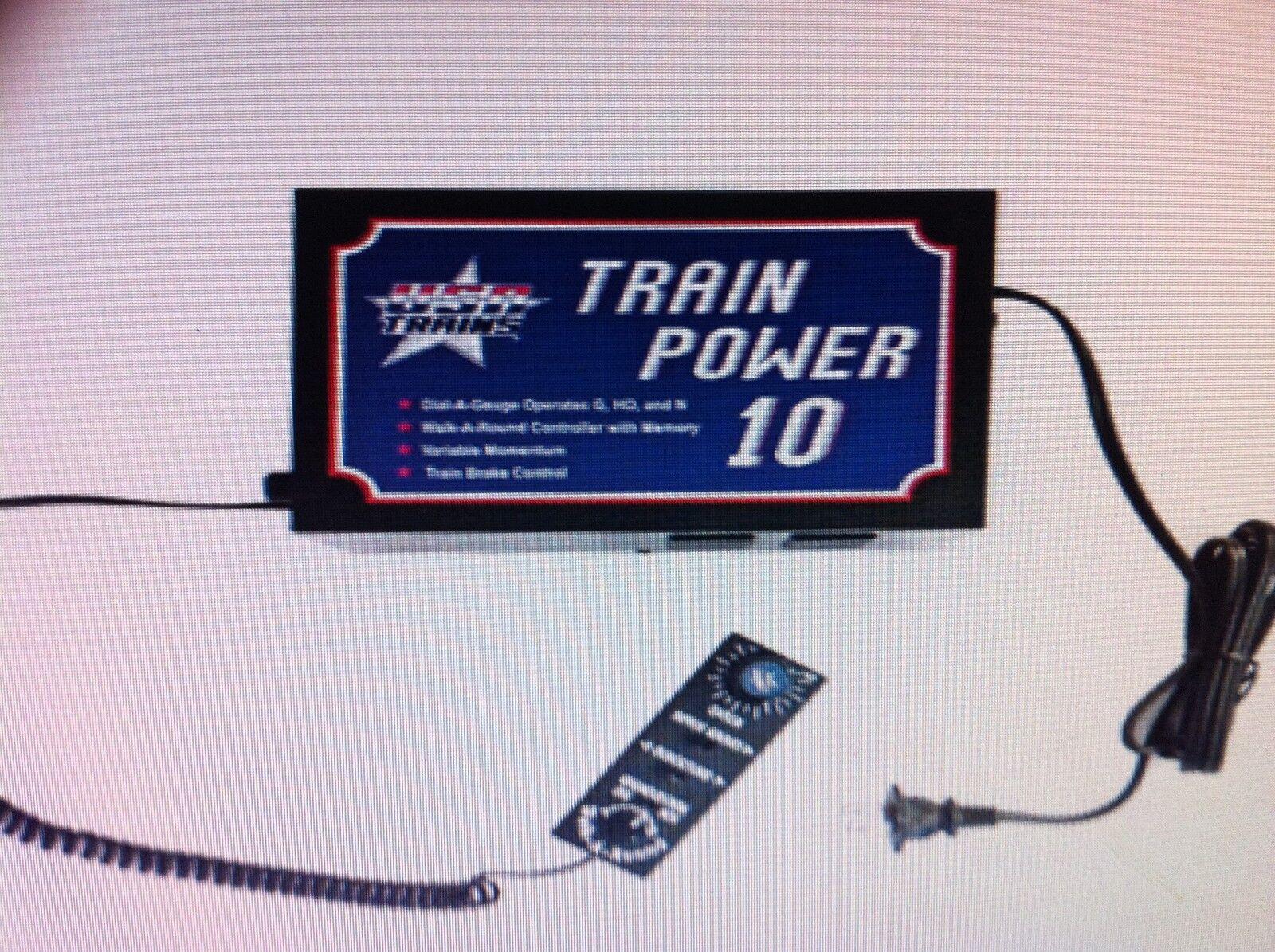 USA Trains RTP10 Train Power 10 Amp Walk Around Power Supply w Momentum