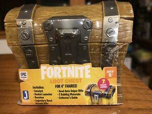 "Fortnite Loot Chest for 4"" Figures New Free Shipping"