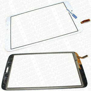 """Touch Screen Digitizer Front Glass For Samsung Galaxy Tab 3 8"""" SM-T310 LCD White 5056157305838"""