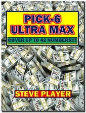Steve Player's Ultra Max Pick- 6 Winning Lottery System