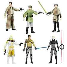 Star Wars Saga Legends wv 7 set of 6 Inquisitor, Luke, Han, Leia - New in stock
