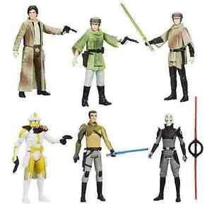 Star Wars Saga Legends Wv 7 Série De 6 Inquisiteurs, Luke, Han, Leia - Neuf En Stock
