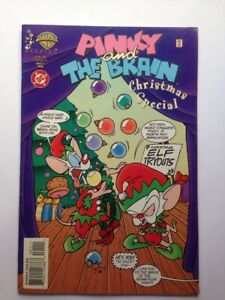 Pinky And The Brain Christmas.Details About Pinky The Brain Christmas Special 1 Dc Comics Animaniacs January 1996 Vf