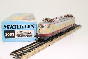 Marklin-3053-h0-e-Lok-schnellzuglokomotive-br-e03-002-de-la-DB-ac-analogico-en-OVP