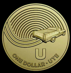 THE GREAT AUSSIE COIN HUNT2019UNC ONE DOLLAR COINU FOR UTE