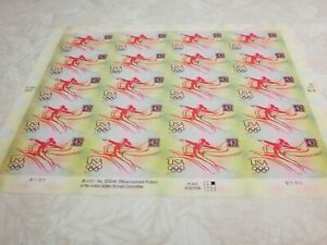 #4334 OLYMPICS Sheet of 20 42 Cent Postage Stamps MNH 2007/2008 Free Shipping