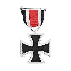 Orden-2-Weltkrieg-Eisernes-Kreuz-2-Klasse-1939-mit-Band-57er-Version-EK2