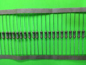 10-Piece-1-2W-5-Carbon-Film-Resistor-U-PICK-RESISTANCE-FAST-SHIPPING-USA