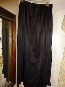 Sears-Black-THE-DOESNT-SLIP-Size-Large-Nylon-NON-CLING