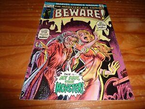 BEWARE #5 Marvel Comics 1973 Romita Cover FN/VF 7.0