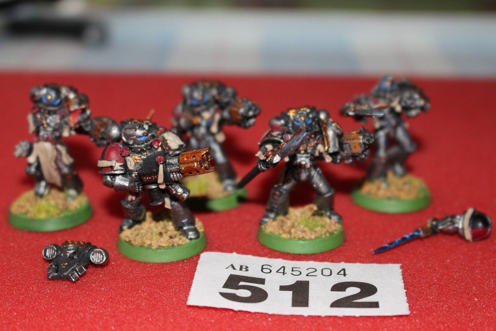 giocos  lavoronegozio WARHAMMER 40k Grigio CAVALIERI Squad 5 modellololi in mettuttio verniciato justiauto  ordina ora i prezzi più bassi