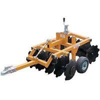 Tow Behind Garden Tractor - Atv Compact Disc - Commercial - Industrial