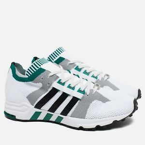 wholesale dealer 25717 8e140 Image is loading Adidas-EQT-Running-Cushion-93-Primeknit-Vintage-White-