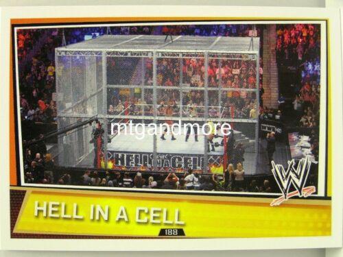 #188 Hell in a Cell Slam attax superstars