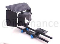 DSLR rail Mattebox 15mm rod rig support set for Follow Focus 5D2 7D GH2 600D