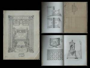 Magasin Des Arts Et De L'industrie - N°8 - 1872 - Ornements
